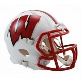 Riddell, Inc Wisconsin Badgers White Mini Helmet