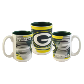 Green Bay Packers 15oz Shadow Mug