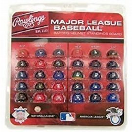 Jarden MLB Mini Helmet Standing Board Set