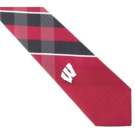 Eagles Wings Wisconsin Badgers WP Grid Tie