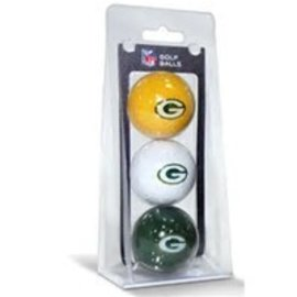Green Bay Packers 3 Pack Golf Balls