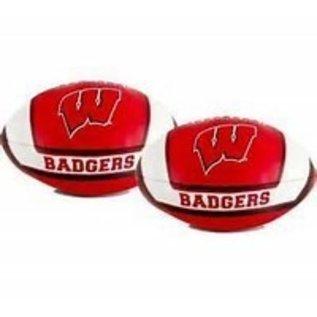 Jarden Wisconsin Badgers Small Vinyl Football