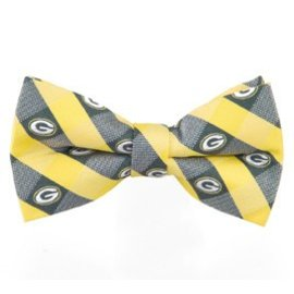 Eagles Wings Green Bay Packers Check Bow Tie