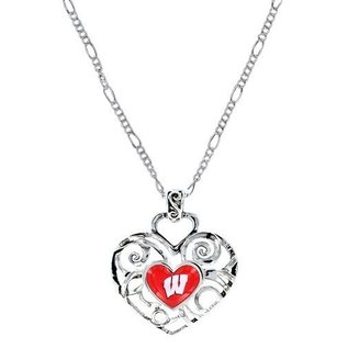 Wisconsin Badgers Gracy Ivy Pendant Necklace