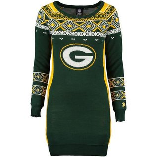 Green Bay Packers Ugly Sweater Dress