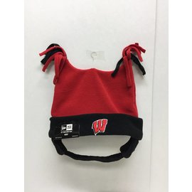 Wisconsin Badgers Double Bunny Youth Knit Hat