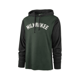 '47 Brand Milwaukee Bucks Men's Wordmark Callback Club Hoodie