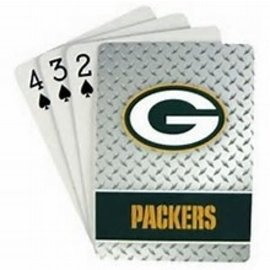 Green Bay Packers Diamond Plate look Playing Cards