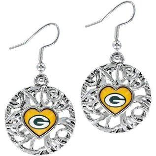 Green Bay Packers Ivy Dangle Earrings