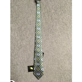 Green Bay Packers Woven Poly 2 Tie