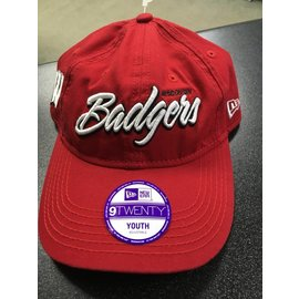 Wisconsin Badgers 9-20 Jr. Core Script Hat