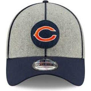 New Era Chicago Bears 2019 39-30 Onfield Sideline Road Hat