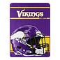 Northwest Minnesota Vikings 46x60 Micro Raschel Throw