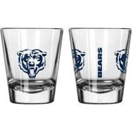 Chicago Bears 2 oz Gameday Shot Glass