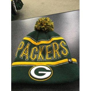 '47 Brand Green Bay Packers Women's Ellie Cuffed Knit Hat
