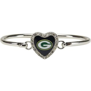 Green Bay Packers Grace Crystal Love Bangle