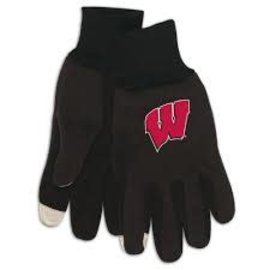 WinCraft, Inc. Wisconsin Badgers Technology Gloves
