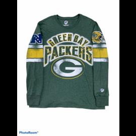 G III Green Bay Packers Men's Pick Six Long Sleeve Tee