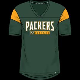Fanatics Green Bay Packers Women's Iconic Bi-blend Short Sleeve Shirt