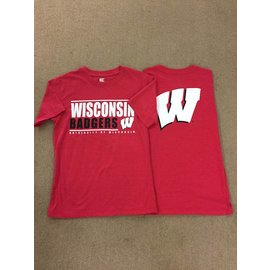 Wisconsin Badgers Men's Short Sleeve Tee