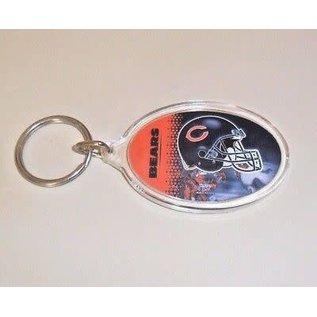 WinCraft, Inc. Chicago Bears Acrylic Oval Keychain