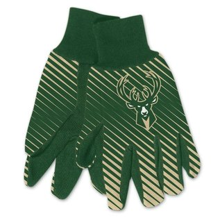 Milwaukee Bucks Adult Two Tone  Gloves