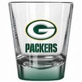 Boelter Brands LLC Green Bay Packers 2oz Elite Shot Glass - Green Bottom