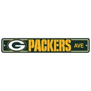 Fremont Die Green Bay Packers Plastic Avenue Sign