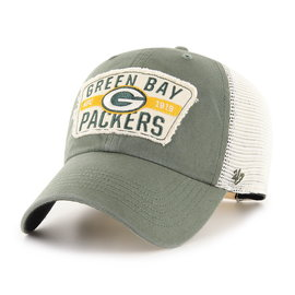 '47 Brand Green Bay Packers 47 Crawford Clean Up Adjustable Hat
