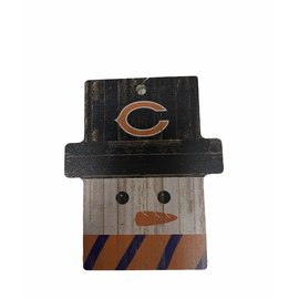 Fan Creations Chicago Bears Snowman Ornament