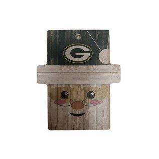 Fan Creations Green Bay Packers Santa Ornament