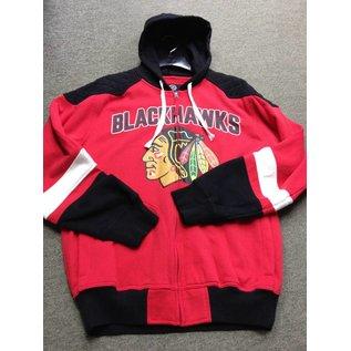 G III Chicago Blackhawks Men's Full Zip Hoodie