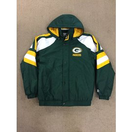 G III Green Bay Packers Men's Green Starter Jacket