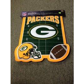 Green Bay Packers Puffy Door Flag
