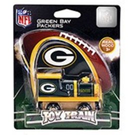 Green Bay Packers Wooden Train