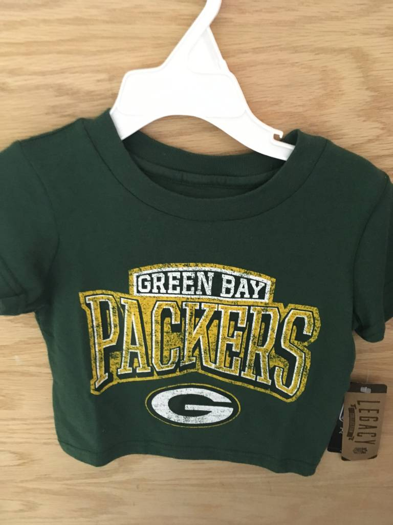 newest 65232 83b04 Green Bay Packers Toddler Green Short Sleeve Tee