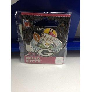 Green Bay Packers Hello Kitty Kickoff Pin