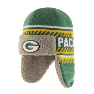 '47 Brand Green Bay Packers Green Ice Knit Cap