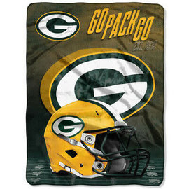 Northwest Green Bay Packers Stacked 60x80 Silk Touch Throw Blanket