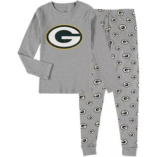 Outerstuff Green Bay Packers Youth Long Sleeve Tee and Pant Sleep Set