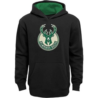 Outerstuff Milwaukee Bucks Youth Prime Pullover Hoodie