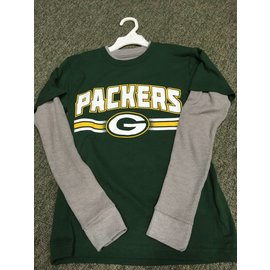 Green Bay Packers Youth Long Sleeve Thermal Tee