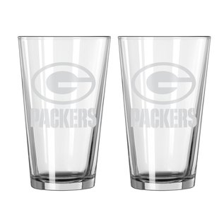 Green Bay Packers Frost Design Pint Glass