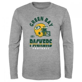 Outerstuff Green Bay Packers Youth Go For It Long Sleeve Shirt