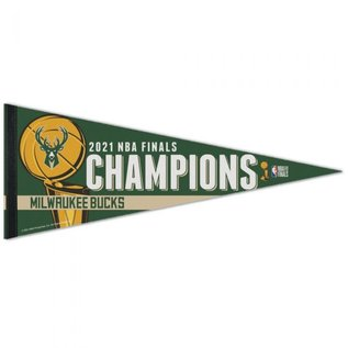WinCraft, Inc. Milwaukee Bucks Champion Pennant
