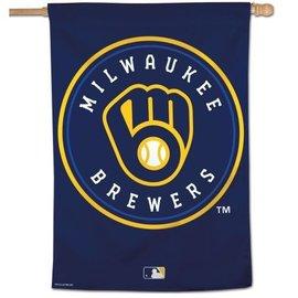 WinCraft, Inc. Milwaukee Brewers 28X40 Banner Flag