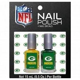 Green Bay Packers 2 Pack Nail Polish
