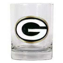 Great American Products, LTD Green Bay Packers 14 oz Rocks Glass