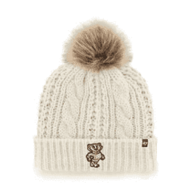 '47 Brand Wisconsin Badgers Women's Meeko Knit Hat