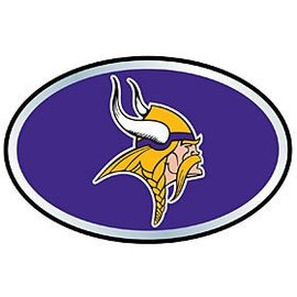 Minnesota Vikings 3D Metallic Colored Auto Emblem